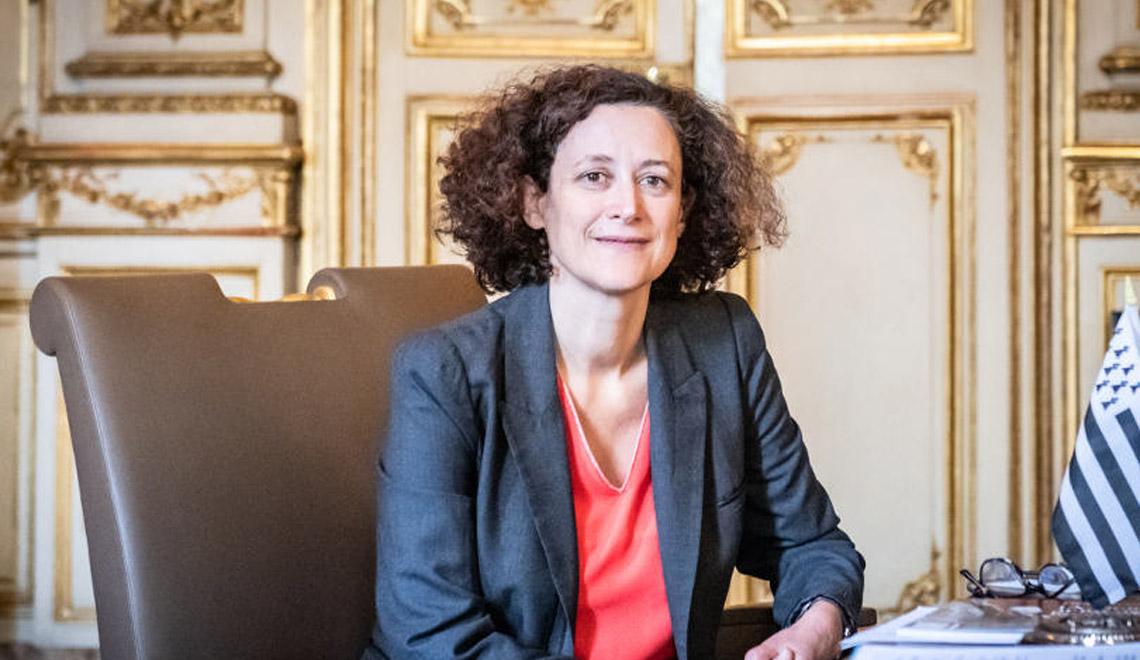 photo d'Emmanuelle Wargon, ministre du logement