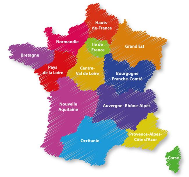 La Nouvelle Carte Des Regions A T Elle Un Impact Sur L Immobilier