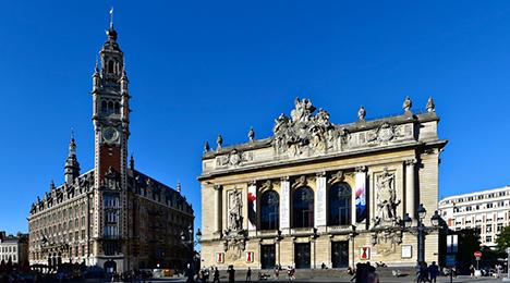 Place du Général-de-Gaulle à Lille