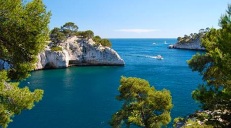 Les calanques près de Marseille