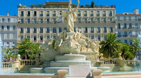 Place de la Liberté à Toulon