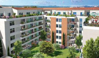 Vallauris programme immobilier neuve « Villa Paloma »  (2)