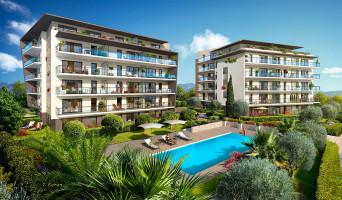 Antibes programme immobilier neuve « L'Oliveraie de Saint Jean »  (2)