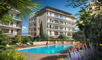 Antibes programme immobilier neuve « L'Oliveraie de Saint Jean »  (3)