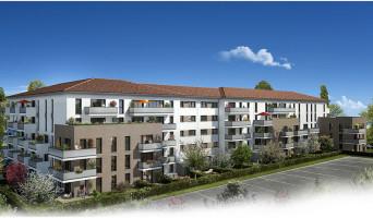 Toulouse programme immobilier neuve « Les Jardins du Pastel »  (2)
