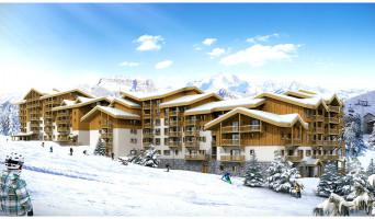 Mâcot-la-Plagne programme immobilier neuve « Front de Neige »  (2)