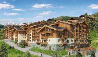 Mâcot-la-Plagne programme immobilier neuve « Front de Neige »  (3)