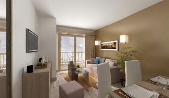 Mâcot-la-Plagne programme immobilier neuve « Front de Neige »  (5)