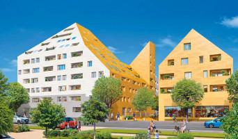 Bordeaux programme immobilier neuve « Rivéo - Contemporain »