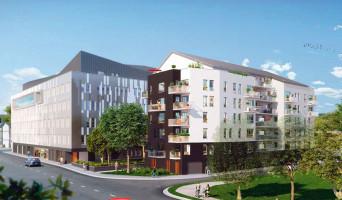 Rouen programme immobilier neuve « Rivéo »