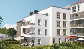 Livry-Gargan programme immobilier neuve « Carré Aubépines »  (2)
