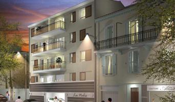 Le Cannet programme immobilier neuve « Les Nabis » en Loi Pinel  (2)