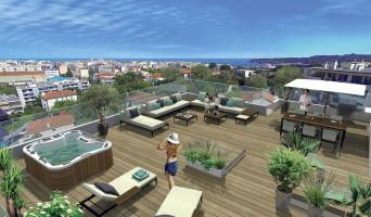 Antibes programme immobilier rénové « Zenith » en loi pinel