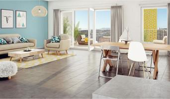 Marseille programme immobilier neuve « Via Natura » en Loi Pinel  (2)