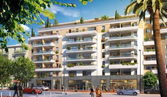 Antibes programme immobilier neuve « Marina Bay »