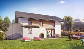 Villaz programme immobilier neuve « Villas Lumières »  (2)