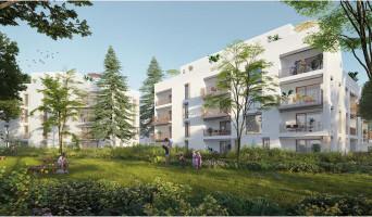 Lyon programme immobilier neuve « Ivory Park »