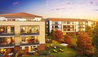 Toulouse programme immobilier neuve « L'Encre et la Plume »  (2)