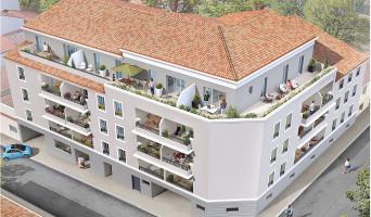 Toulon programme immobilier neuve « Les Hauts de Saint Jean »  (2)
