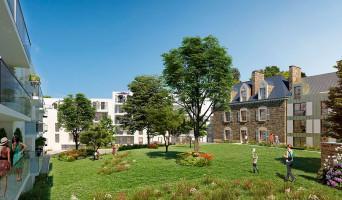 Rennes programme immobilier neuve « Parc du Ronceray - Nue propriété »