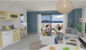 Mèze programme immobilier neuve « Seaside »