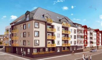 Rouen programme immobilier neuve « LUMI'R »