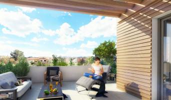 Montpellier programme immobilier neuve « Le Clau de Gil » en Loi Pinel  (2)