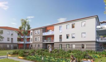Miribel programme immobilier neuve « Nuances Rubis »  (2)