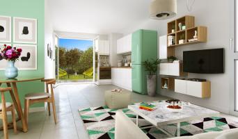 Miribel programme immobilier neuve « Nuances Rubis »  (3)