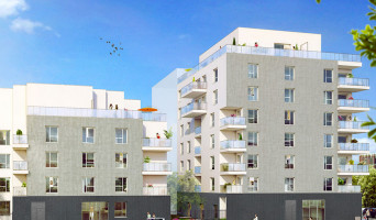 Lyon programme immobilier neuve « Enjoy 8 »