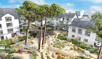 La Baule-Escoublac programme immobilier neuve « Villas Sophia »  (2)