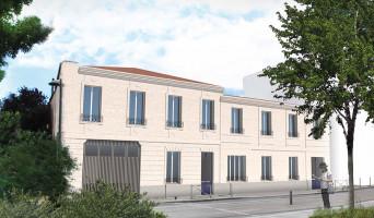 Bordeaux programme immobilier rénové « Les Patios d'Emile » en loi pinel