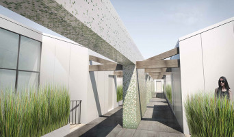 Bordeaux programme immobilier à rénover « Les Patios d'Emile » en Loi Pinel ancien  (2)
