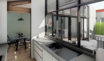 Bordeaux programme immobilier à rénover « Les Patios d'Emile » en Loi Pinel ancien  (3)