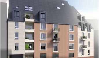 Rouen programme immobilier neuf « La Renaissance » en Loi Pinel