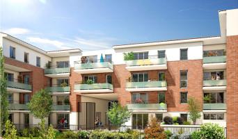 Mondonville programme immobilier neuve « Le Chantarel »  (2)