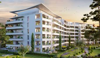 Marseille programme immobilier neuve « Chateau Valmante - ADMIR' » en Loi Pinel  (2)