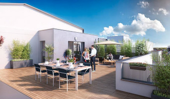 Nancy programme immobilier neuve « Les Jardins Suspendus »  (2)