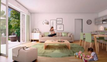 Jouy-le-Moutier programme immobilier neuve « Les Jardins Des Retentis »  (2)