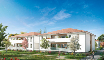 Aucamville programme immobilier neuve « Le Domaine de Mazurié »