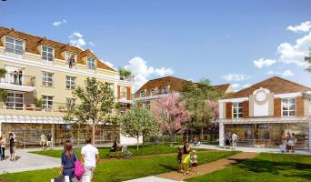 Montévrain programme immobilier neuve « Les Allées de Montevrain »  (2)