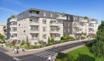 Dijon programme immobilier neuve « Reflets Mansart »