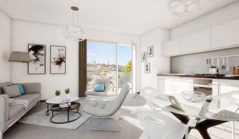 Villeurbanne programme immobilier neuve « Pixell »  (2)