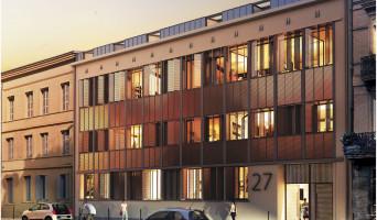 Toulouse programme immobilier à rénover « Patio Roquelaine » en Loi Pinel ancien