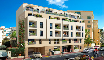 Antibes programme immobilier rénové « Riviera Melody » en loi pinel