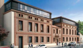 Toulouse programme immobilier rénové « Campus Saint-Michel » en loi pinel