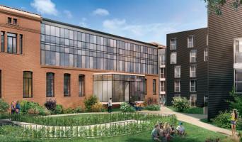 Toulouse programme immobilier neuve « Campus Saint-Michel »  (2)