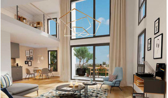 Poissy programme immobilier neuve « Instants Nature »  (4)
