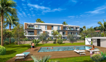 Golfe-juan programme immobilier neuve « Villa Palma » en Loi Pinel  (2)