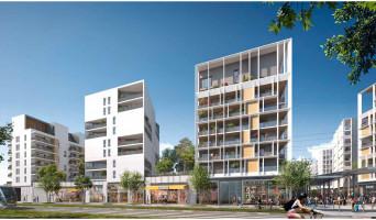 Bordeaux programme immobilier neuve « Apostrophe - Ginko »
